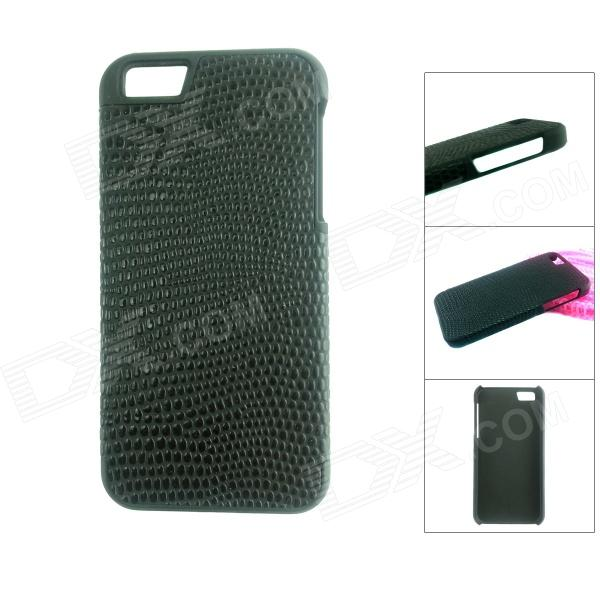 Protective PU Leather Case + ABS para IPHONE 5 / 5S - Negro
