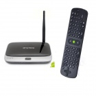 Ourspop MK823 Quad-Core Android 4.2 Google TV Player w/ 2GB RAM, 8GB ROM, Air Mouse, US Plug - Black