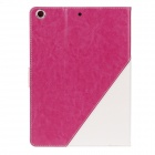 Stylish PU Leather Card Holder Stand Case Cover w / Auto Sleep/wake Function for IPAD Air / IPAD 5