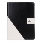 Stylish PU Leather Card Holder Stand Case Cover w / Auto Sleep / Wake Function for IPAD Air / IPAD 5