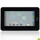 "KVD T98S 7.0"" IPS Dual Core Android 4.2.2 Tablet PC w/ 512MB RAM, 4GB ROM, Wi-Fi, GPS - Black + Red"