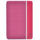 Devia Elegant Ball Pattern Protective PU Leather Case Cover w/ Stand for IPAD MINI - Deep Pink