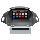 "LsqSTAR 8"" Car DVD Player w/ GPS,RDS,AUX-IN,SWC,Can Bus,6CDC,TV,BT phonebook,Dual Zone for Ford kuga"