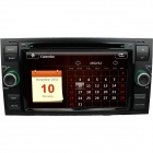 "LsqSTAR 7"" Car DVD Player w/ GPS,RDS,AUX,SWC,6CDC,Radio,TV,BT phonebook,Dual Zone for Ford old Focus"