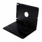 BK-Z66 360 Degree Rotation Bluetooth V3.0 64-Key Keyboard for IPAD AIR - Black