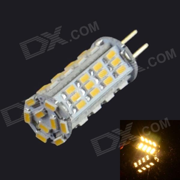 HZLED G4 3W 339lm 3000K 57-SMD 3014 LED Warm White Light - White (AC/DC12V)