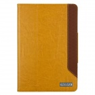 Remax Protective PU Leather + PC Case Stand w/ Auto Sleep Cover for RETINA IPAD MINI - Yellow