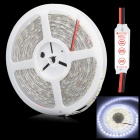 HML-SSC Waterproof 72W  6500LM 6500K 300 x SMD 5050 LED White Light  Strip w/ Mini Controller