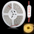 HML-SSC Waterproof 72W  6500LM 3300K 300 x SMD 5050 LED Warm White Light  Strip w/ Mini Controller