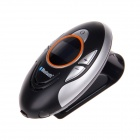 "BT8110 1"" Screen Bluetooth V2.0 Caller ID + Rechargable Car Hands-free Speaker - Black + Silver"