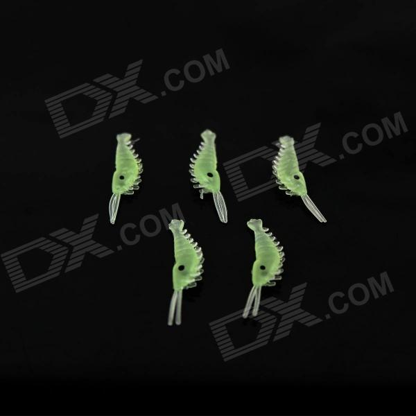 Go Fishing Bait-Luminous Shrimp Fishing Baits - Green (5PCS)