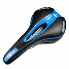 A001 Bicycle Saddle Seat - Black + Blue