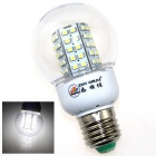 ZHISHUNJIA E27 7W 480lm 6000K 66-SMD 3528 LED  White Light Bulb (AC 200~265V)