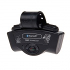 BT8109B Bluetooth V2.0 Rechargeable Car Hands-free Speaker - Black
