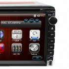 "LsqSTAR Universal 6.95"" 2 Din Win CE 6.0 Car Central Multimedia w/ GPS,AUX,RDS,TV,6CDC,SWC,Dual Zone"