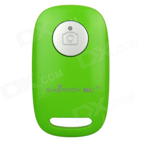 SHARPEN BC01 Bluetooth V3.0 Camera Shutter Remote Controller for iOS / Android Phone - Green gp 1006 wireless bluetooth v4 0 gamepad controller for ios android phone camouflage