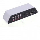 Zndiy-bry mini 4-CH home DVR avec télécommande / SD / USB / slot mobile HDD - blanc