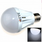 ZHISHUNJIA E27 7W 600lm 6500K 27-SMD 2835 LED White Light Bulb - White (85~265V)