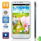 "KVD N9189 MTK6589 Quad-Core Android 4.2.1 WCDMA Bar Phone w/ 5.3""IPS, FM, Wi-Fi and GPS - White"