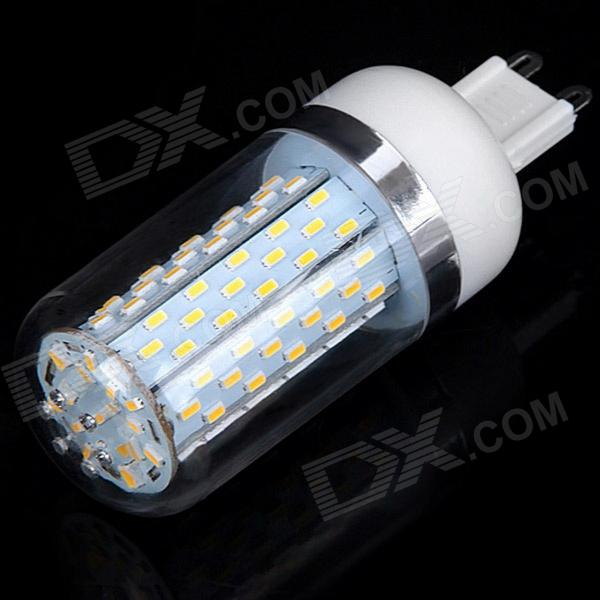G9 12W 520lm 3000K 120-SMD 3014 LED Warm White Light Corn Lamp (85~265V)