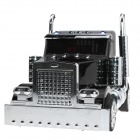 Go Voc V-66 Cassic Car Style Media Speaker w/ FM / TF / USB - Black + Silver