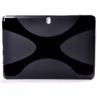 """X"" Style Anti-Slip Protective TPU Back Case for Samsung Galaxy Note Pro 12.2"" - Black"