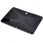"""X"" Style Anti-Slip Protective TPU Back Case for Samsung Galaxy Tab Pro 10.1 - Black"