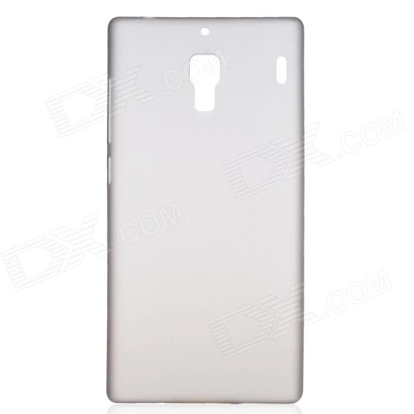 TEMEI Protective Plastic Case for Redmi - Translucent Grey