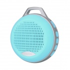 MGOM X5 Portable Bluetooth V3.0 + EDR Speaker w/ TF / 3.5mm Jack / FM / Microphone - Blue
