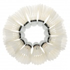 NINJA N4 Competition Level Sport Badminton Feather Shuttlecocks - White (12 PCS)