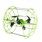 Brilink BH05 4-CH 2.4G Quadcopter Flight/Ground Walking/Wall Climbing w/ Gyro - Green + Black