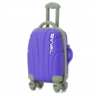 RYVAL Waterproof Draw-bar Box Shaped USB Flash Drive - Purple