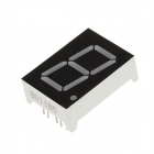"8011BS 1.3"" 1-bitars gemensam anod röd LED Digital 7-Segment Display - svart + vit (5 st)"