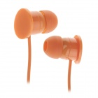 Sibyl M-43 Fashion 3.5mm Plug In-Ear Earphones w/ Winder - Orange + Green (120cm)