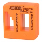 Jakemy JM-X1 Magnetizer Demagnetizer Tool - Orange Yellow