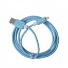 KS-308 Universal USB 2.0 to Micro USB Data / Charging Cable for Samsung / HTC - Blue (149cm)