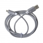 KS-308 Universal USB 2.0 to Micro USB Data / Charging Cable for Samsung / HTC - Grey (149cm)
