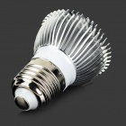 Lexing LX-SD - 059 E27 6W 420lm 7000K 15-5730 Lampe LED blanc SMD - Blanc + Argent (AC 220 ~ 240V)