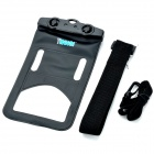 Tteoobl T-9B Protective PVC + ABS Waterproof Bag for IPHONE 4 / 4S / 5 / 5S - Black