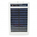 "JY-23 Solar Powered ""2600mAh"" External Battery Charger Power Bank - Silver"