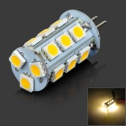 LeXing LX-G4-01 G4 180lm 3500K 18-SMD 5050 LED Warm White Lamp (DC 10~30V)