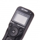 VILTROX MC-C3 1,2-tommers LCD digitale timeren fjernkontroll for Canon 7D / 50D/1 D / D60 - svart (2 x AAA)