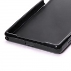 Protective TPU Back Case for Sony Xperia Z2 - Black