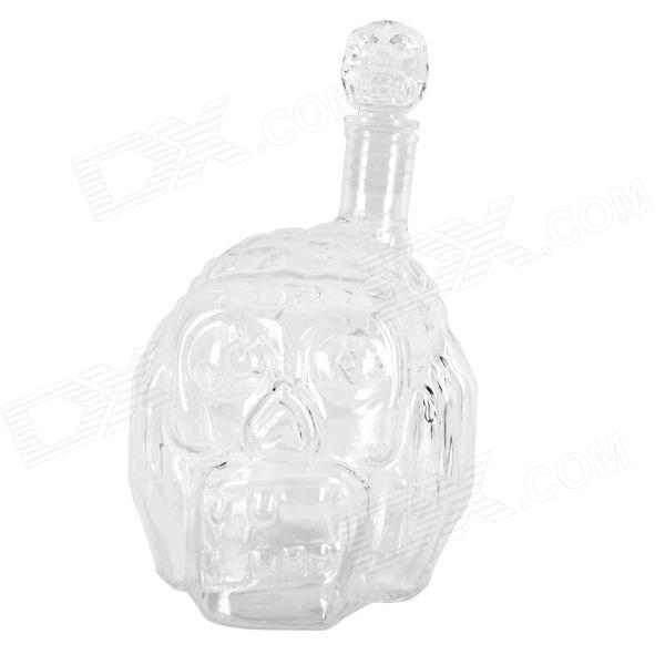 Creative Skull Head Winebottle - Transparent (450ML) simple fashion table desktop is mdf fine processing the leg of the table is made of solid beech black and white can be chosen
