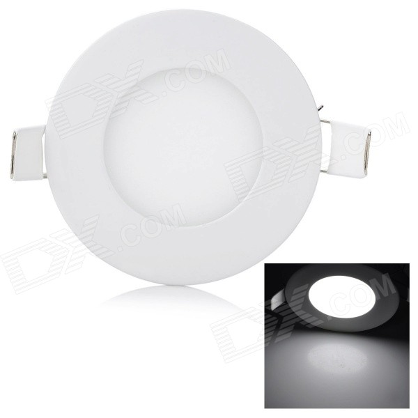 JRLED JRLED-Y-W Ultra-thin 3W 200lm 6500K 15-2835 SMD LED White Light Ceiling Lamp (AC 85~265V)