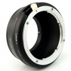AIG-M4/3 Nikon G Lens to Panasonic Olympus M 4/3 Camera Mount Adapter - Black + Silver