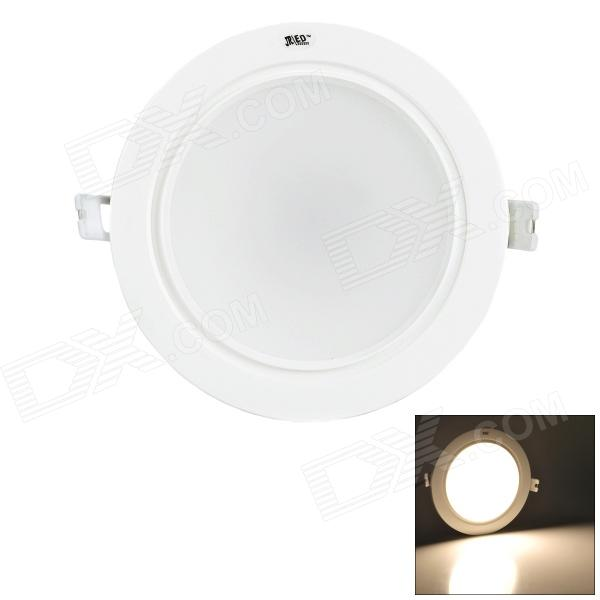 JRLED JR-PX-TD-4 9W 600lm 3500K 18-5730 SMD LED Warm Lámpara de techo blanco (90 ~ 250V)
