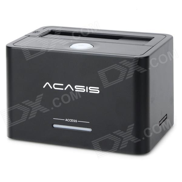 Acasis BA-07U3 USB 3.0 2.5 / 3.5 Universal Serial HDD Dockings multi disk chassis 4u650mm 24 hot swap storage server monitoring computer case