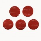 3M VHB 32mm 3M Sticker for Gopro Hero 4/ 1/2/3/3+ - Red (5 PCS)