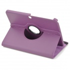 Protective PU Leather Case w/ Stylus Pen for Samsung Galaxy Tab 3 10.1 P5200 / P5210 - Purple